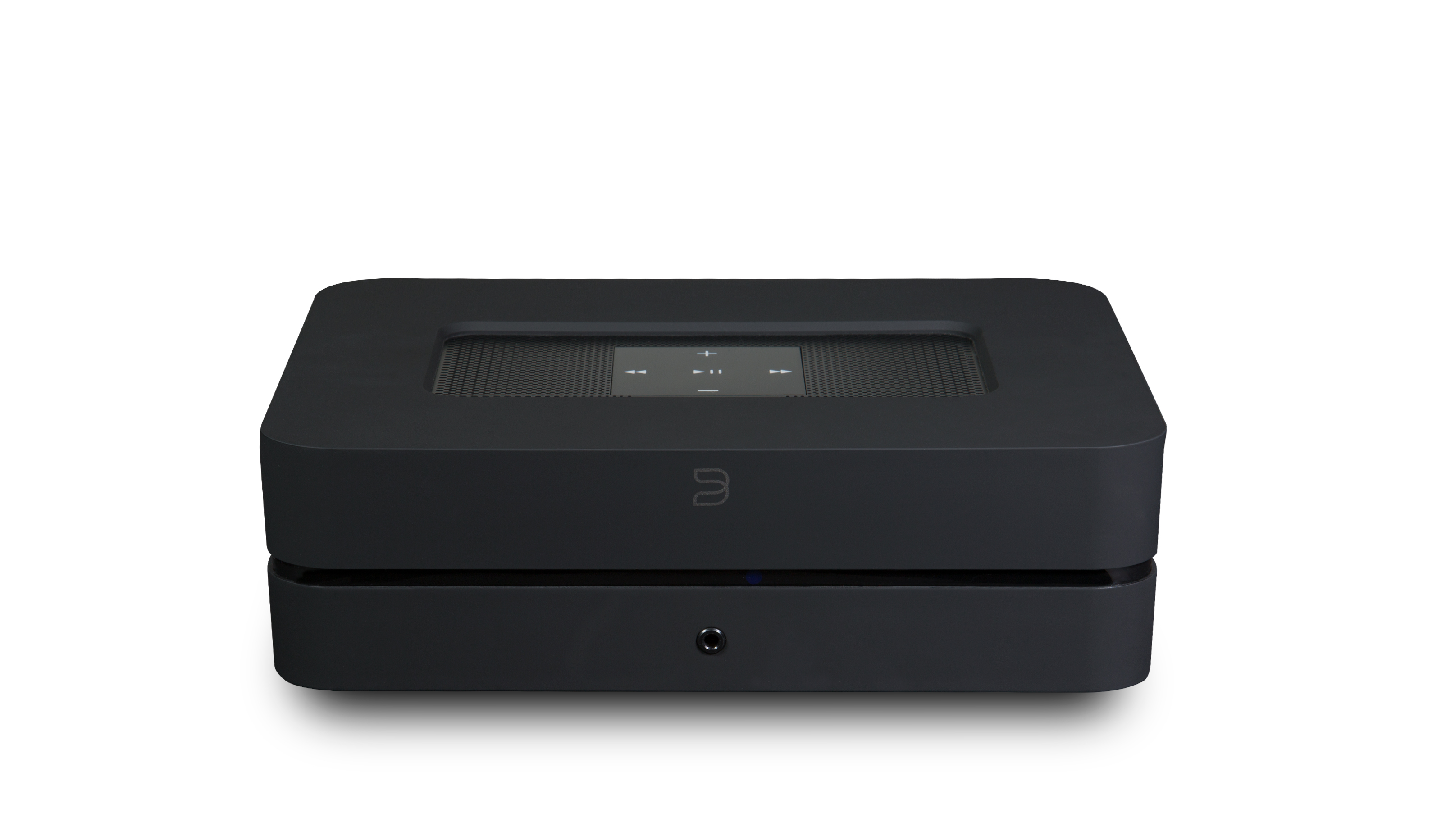 Bluesound POWERNODE 2i BLK Front Above