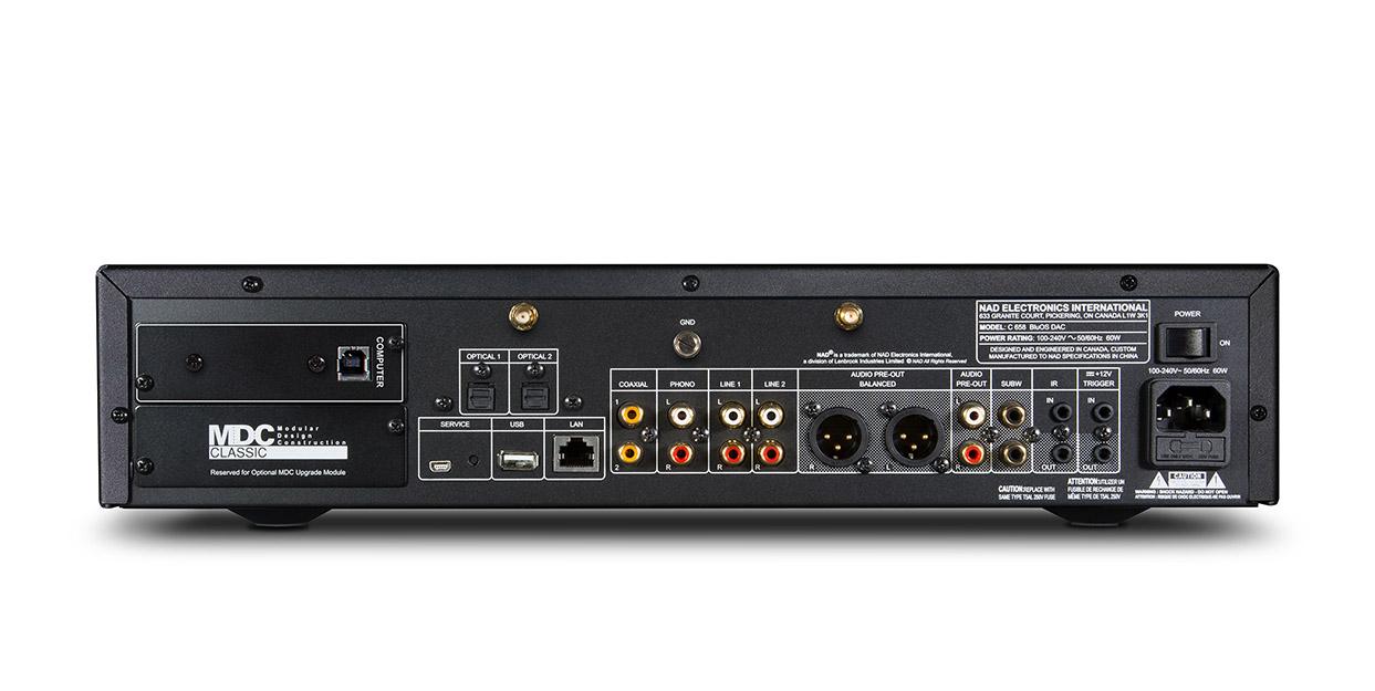NAD MDC USB